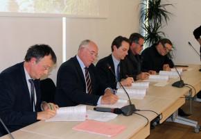 Signature  d'un nouveau contrat avec l'Agence de l'Eau Loire Bretagne