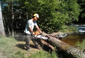 Lancement de la seconde phase d'entretien de la végétation des berges sur la Gartempe