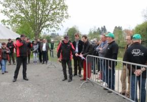 Inauguration de l'aire des Ilettes à Montmorillon
