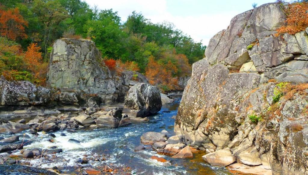 Le Roc d'enfer à Lathus